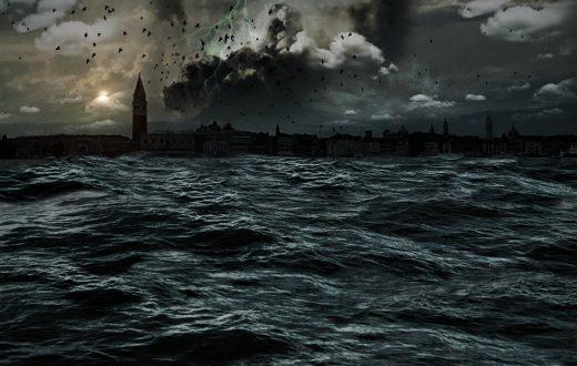 Water Sea Apocalypse Venice Promenade Mystical