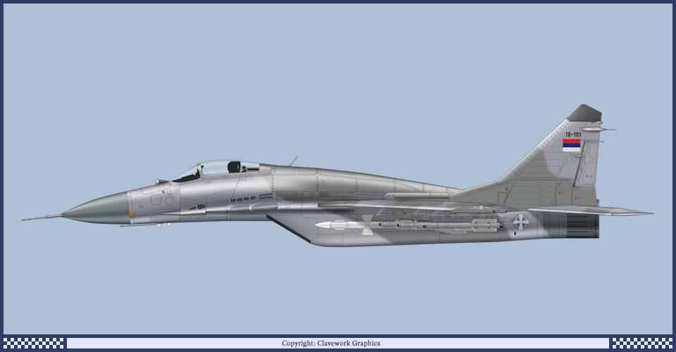 """Ruski MiG-ovi darovani Srbiji danas stižu u """"Batajnicu""""?"""