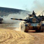 Turska vojska topništvom napada kurdske snage prije vojne operacije na enkalavu Afrin